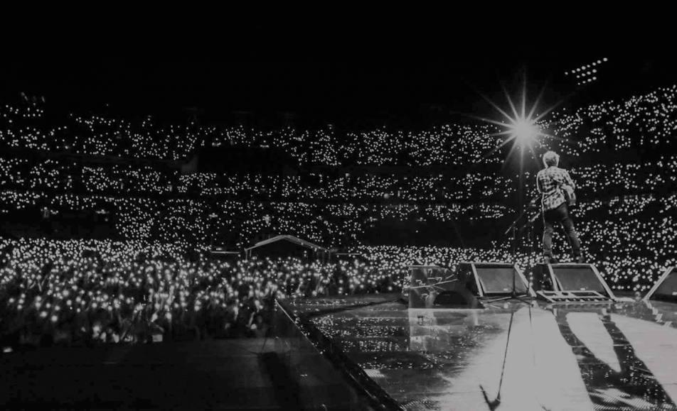 Ed Sheeran live at FNB stadium
