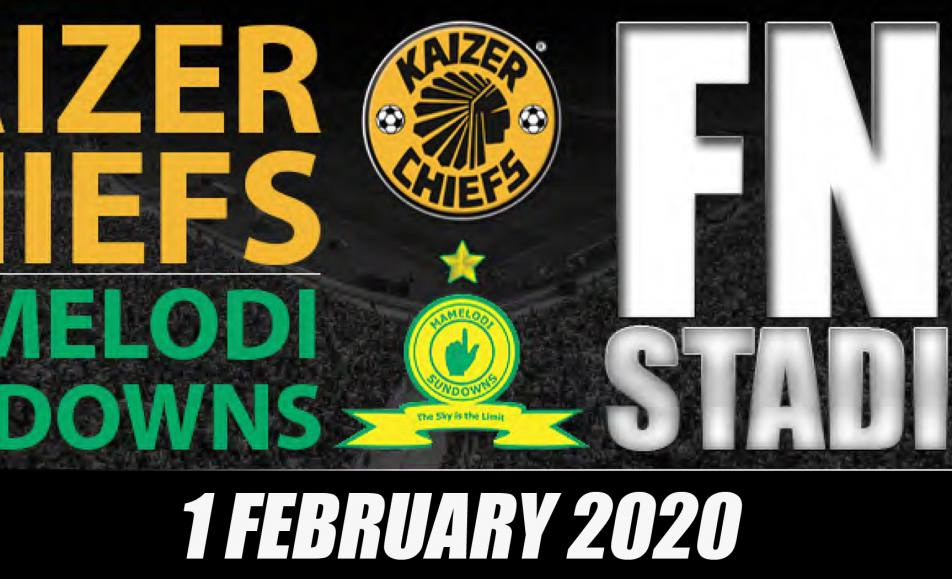 Chiefs vs Sundowns – FNB Stadium